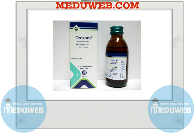 Orazone Tablets, syrup