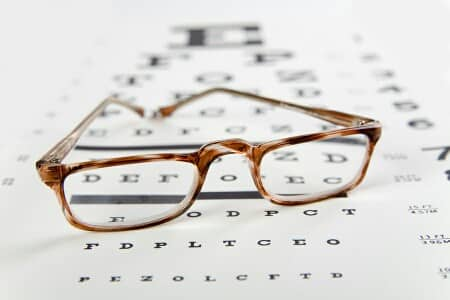 Correction of astigmatism by glasses