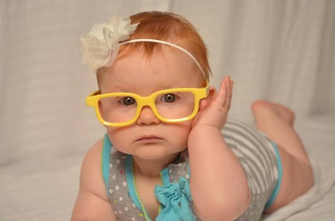Eye glasses in children